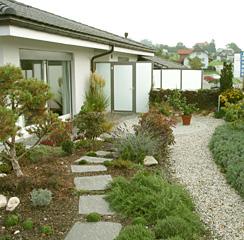 les jardins terrasse consomment du dioxyde de carbone et produisent de loxygne ils emmagasinent leau dchargent les canalisations
